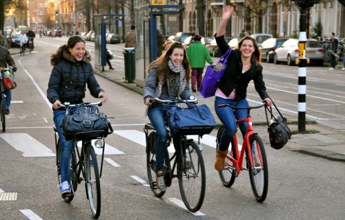 Bicycles in The Netherlands